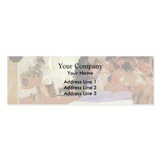 Joaquín Sorolla- The Christening Business Card Template