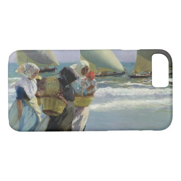 Beach Themed Joaquin Sorolla - The Three Sails iPhone 7 Case