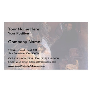 Joaquín Sorolla- Trafficking in human beings Business Cards