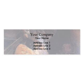 Joaquín Sorolla- Trafficking in human beings Business Card