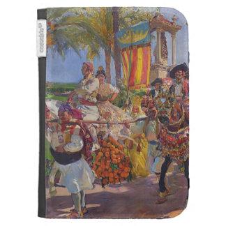 Joaquín Sorolla- Valencia Couples on horseback Kindle 3 Covers