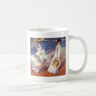 Joaquín Sorolla y Bastida Walk On The Beach Coffee Mug