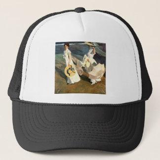 Joaquín Sorolla y Bastida Walk On The Beach Trucker Hat