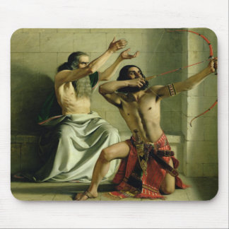 Joash Shooting the Arrow of Deliverance, 1844 Mouse Pad