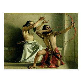 Joash Shooting the Arrow of Deliverance, 1844 Postcard