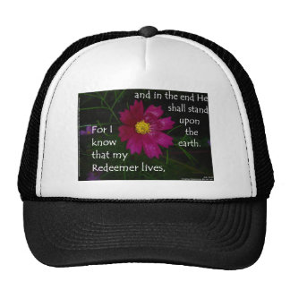 Job 19:25 I know that my Redeemer Lives! Hats