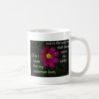 Job 19:25 I know that my Redeemer Lives! Coffee Mugs