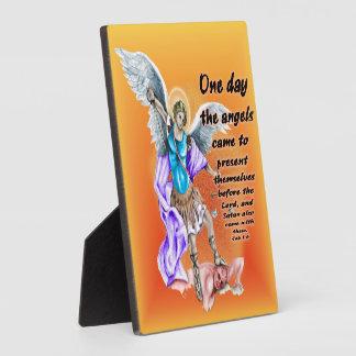 Job 1:6 display plaques