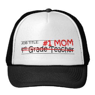 Job #1 Mom 4th Grade Mesh Hat