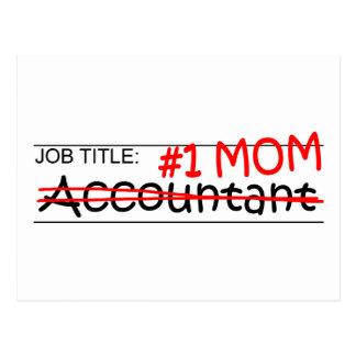 Job #1 Mom Accountant Postcard