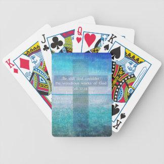 Job 37:14 Bible Verse Card Decks