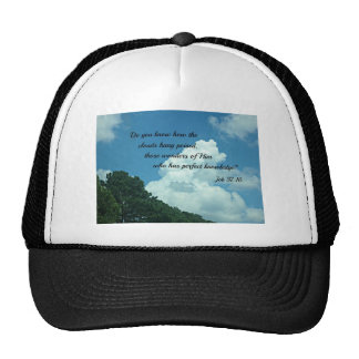Job 37:16 Do you know how the clouds... Trucker Hat