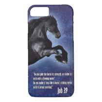 Job 39 Horse iPhone 7 Case
