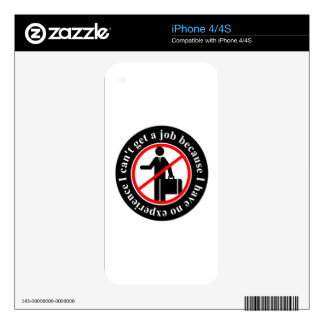 job-607701 UNEMPLOYMENT CAUSES NOT WORK EXPERIENCE Skins For The iPhone 4