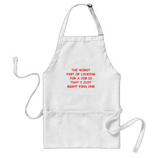 job adult apron