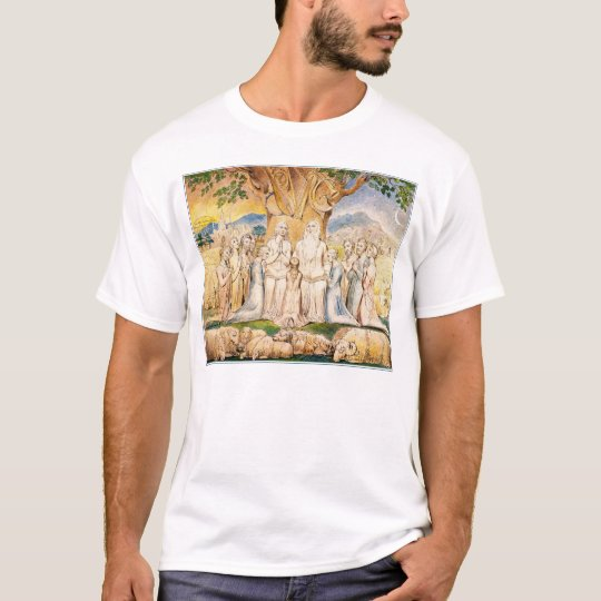 Job and His Family by William Blake T-Shirt