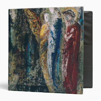 Job and the Angels, c.1890 3 Ring Binder