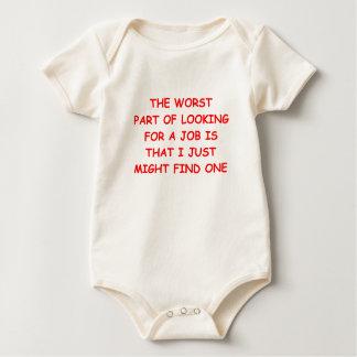job baby bodysuit