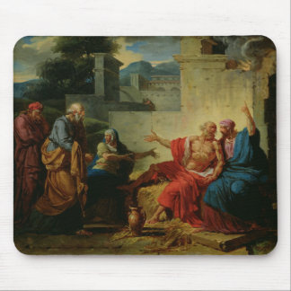 Job Being Scolded by his Wife, c.1790 Mouse Pad
