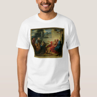 Job Being Scolded by his Wife, c.1790 T Shirt