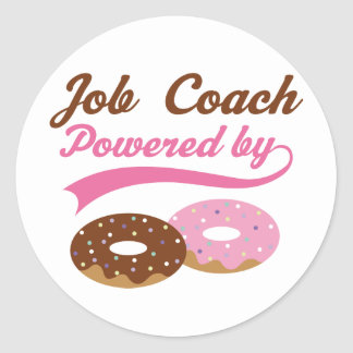 Job Coach Gift (Donuts) Stickers