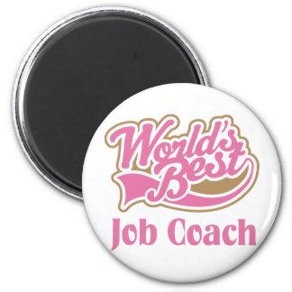 Job Coach Gift Fridge Magnets