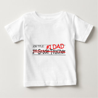 Job Dad 2nd Grade Baby T-Shirt