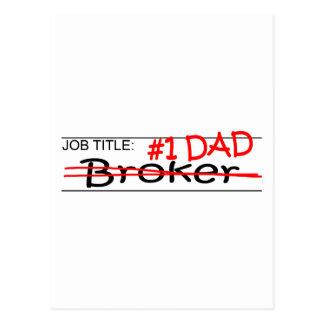 Job Dad Broker Postcard