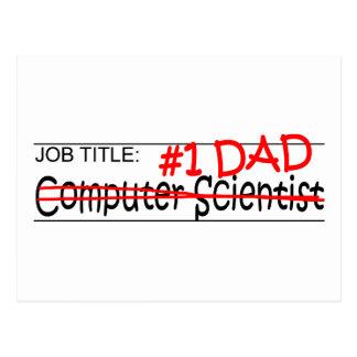 Job Dad Comp Sci Postcard