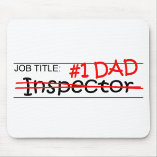 Job Dad Inspector Mouse Pad