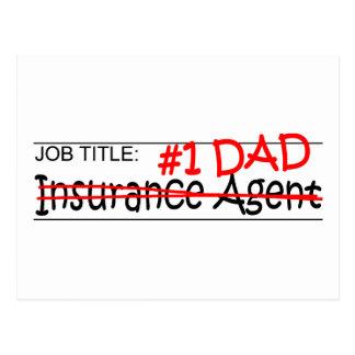 Job Dad Insurance Postcard
