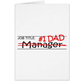 Job Dad Manager Card