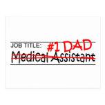 Job Dad Medical Asst Postcard