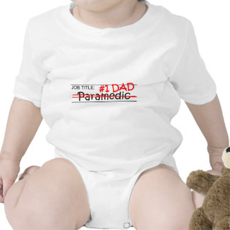 Job Dad Paramedic Bodysuit