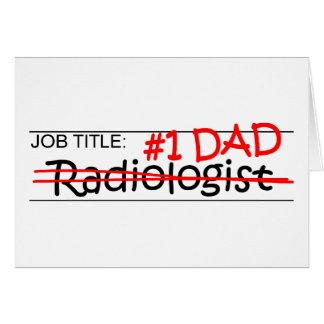 Job Dad Radiologist Cards