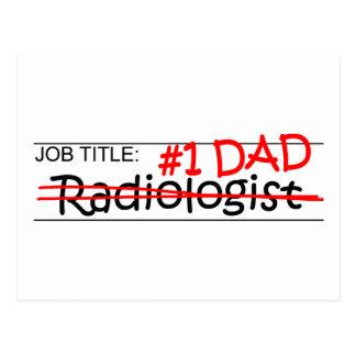Job Dad Radiologist Post Card