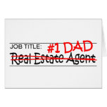 Job Dad Real Estate Agent Card