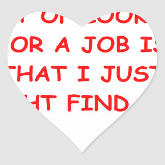 job heart sticker