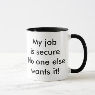 job humor mug
