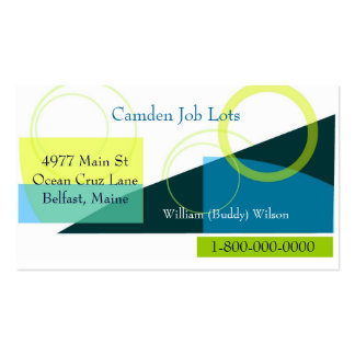 Job Hunting Business Business Card