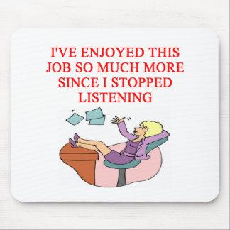 JOB joke Mouse Pad