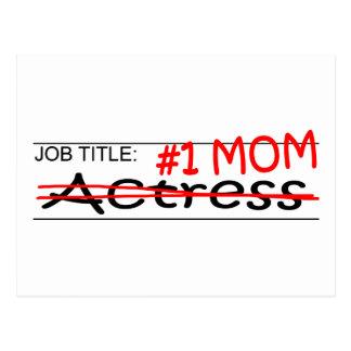 Job Mom Actress Postcard