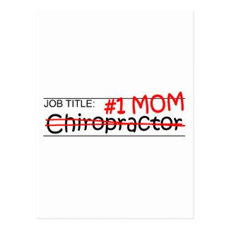 Job Mom Chiropractor Postcard
