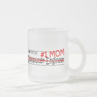 Job Mom Comp Eng Frosted Glass Coffee Mug