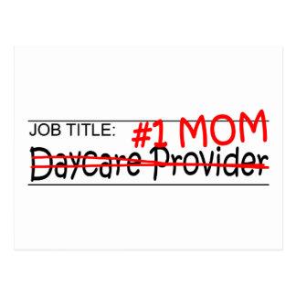 Job Mom Daycare Postcard