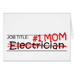 Job Mom Electrician Card