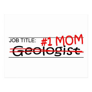 Job Mom Geologist Postcard
