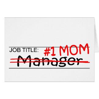 Job Mom Manager Card
