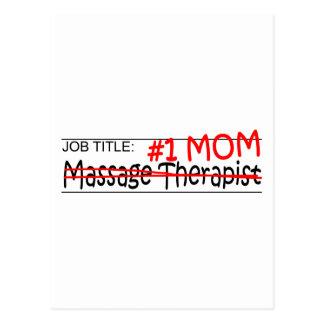Job Mom Massage Therapist Postcard