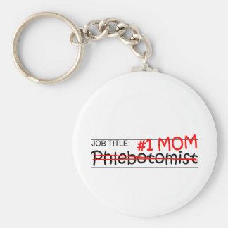 Job Mom Phlebotomist Key Chains